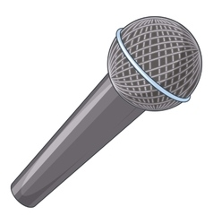 Microphone icon cartoon style vector