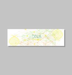 minimalist medicine design of landing page vector image