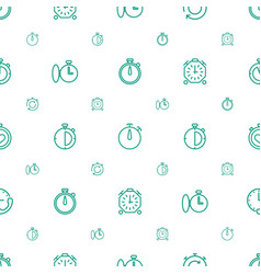 Quick icons pattern seamless white background vector
