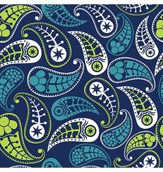 Seamless paisley texture for your design Endless vector image