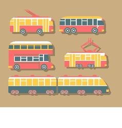 Set of Urban Transport vector