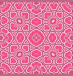 abstract textile ceramics seamless pattern vector image