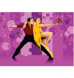 dance hall vector image