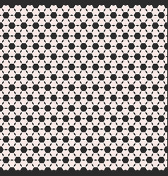 Monochrome black hexagons seamless pattern vector
