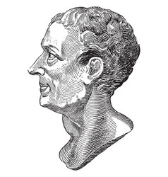 Montesquieu vintage vector