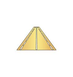 Road computer symbol vector