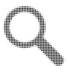 search halftone icon vector image