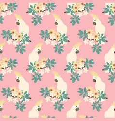 beautiful seamless pattern vector image vector image
