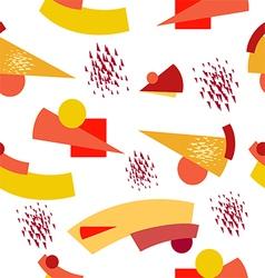 Suprematist seamless pattern vector image