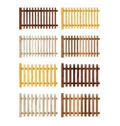 Various Fences vector image