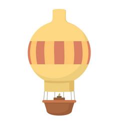 Aerostat icon cartoon style vector
