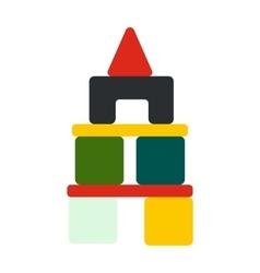 Children blocks icon vector