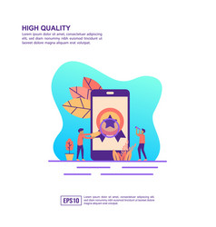 concept high quality modern conceptual for vector image