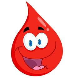 Friendly blood guy vector