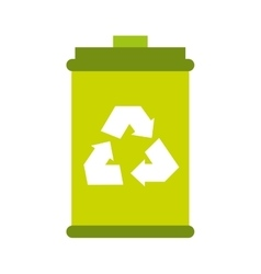 Recycle symbol sign icon vector