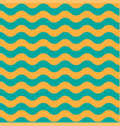 wave sea horisontal pattern bright background vector image