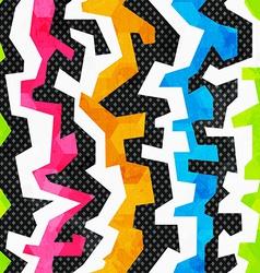 grunge bright graffiti seamless pattern vector image vector image