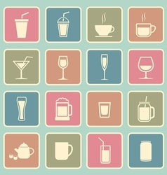 drinks icon vector image vector image
