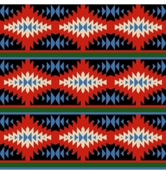 Bright seamless pattern with Mexican ornaments vector image