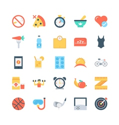Fitness Icons 3 vector