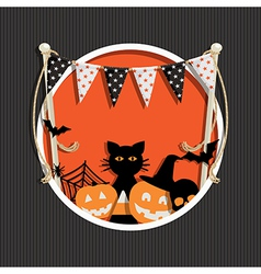 Halloween decoration vector