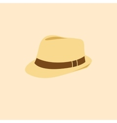 Man hat isolated icon vector