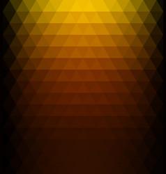 Ocher gradient geometric background vector