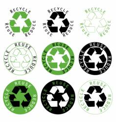 Recycle reuse reduce symbols vector