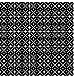 seamless pattern black and white repeating vector image