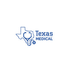 texas-medical-logo vector image