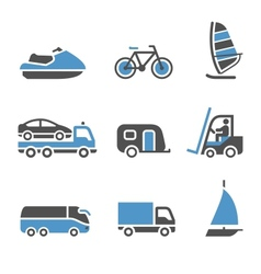 Transport Icons - A set of third vector