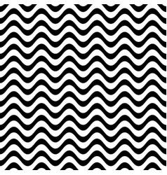 website seamless wavy line pattern vector image