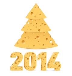 2014 Cheese 01 vector image