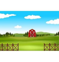 A farm vector image
