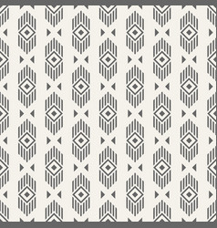 abstract ethnic geometric pattern vector image