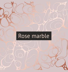background with imitation rose gold vector image