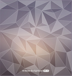 blurry triangle background vector image