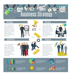 Business Strategy Infographic Set vector