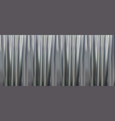 Colorful naturalistic gradient gray curtains vector