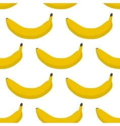 Colorful seamless pattern of bananas vector image