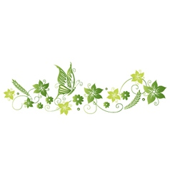 Flowers floral element vector