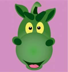mascot dragon vector image