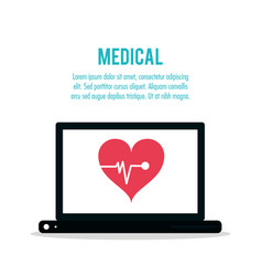 medical technology health care vector image