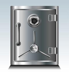 Metal safe vector