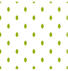 Persimmon leaf pattern seamless vector