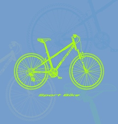 Sport-bike vector image