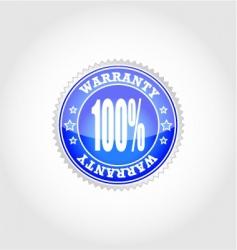 warranty vector image