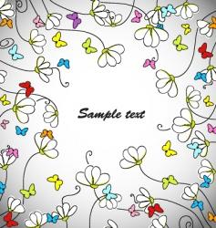 daisy web vector image