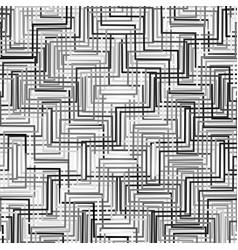 Complicated greyscale geometric pattern geometric vector