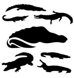 Crocodileset vector
